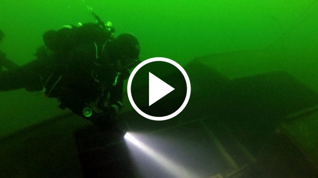 Video Vorschau Tauchgang zum Segelboot
