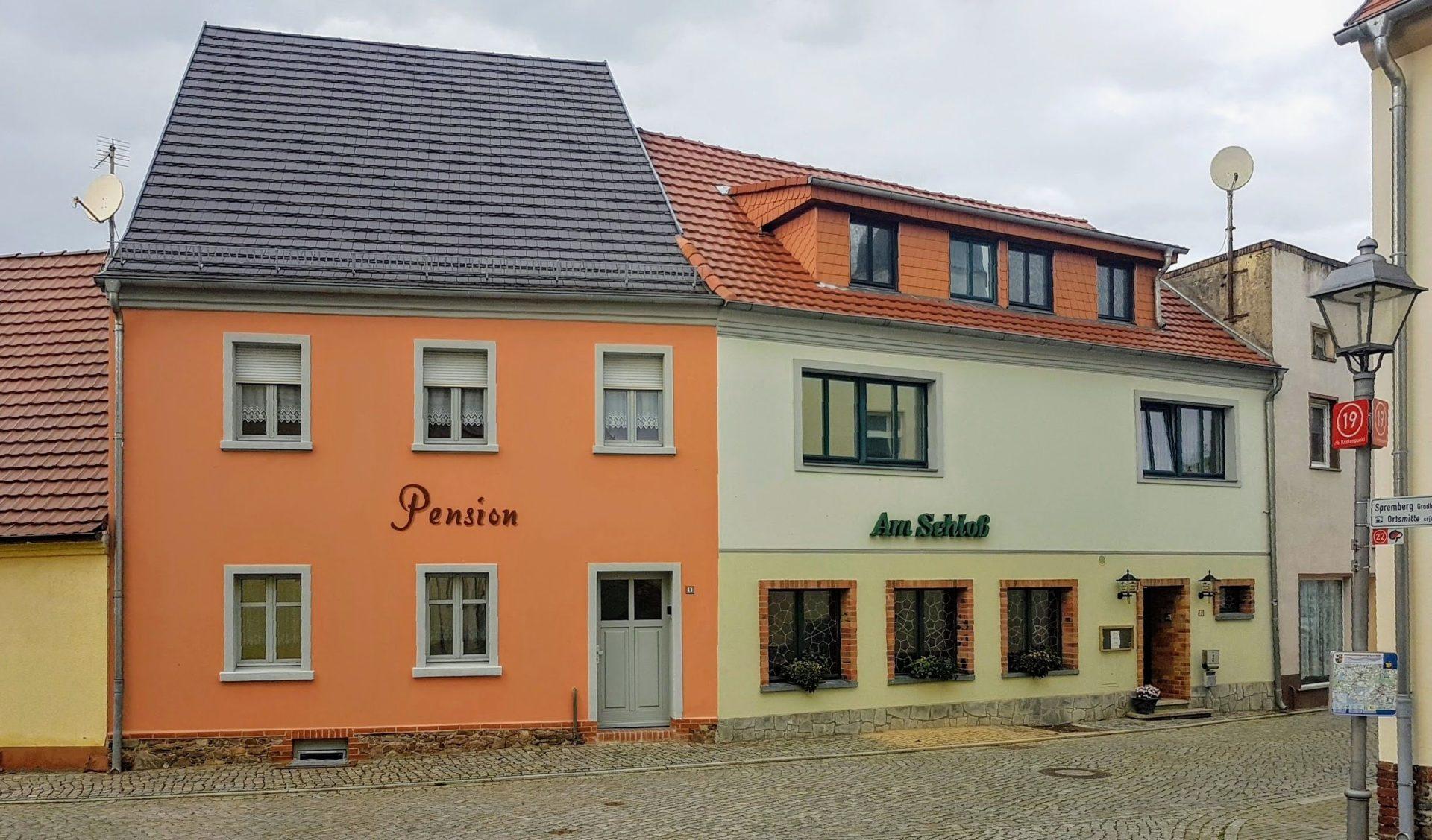 """Gasthof und Pension """"Am Schloß"""" in Drebkau"""