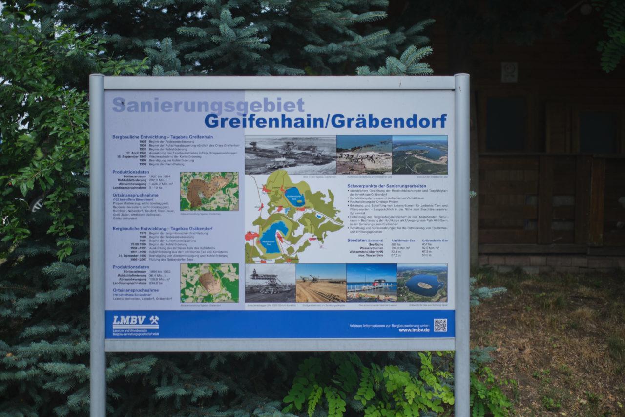 Sanierungskarte Gräbendorfer See